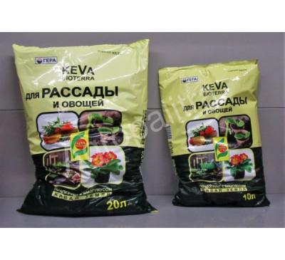 Keva грунт для рассады и овощей, 10 л, 20 л
