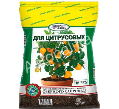 Биогрунт для цитрусовых 5 л