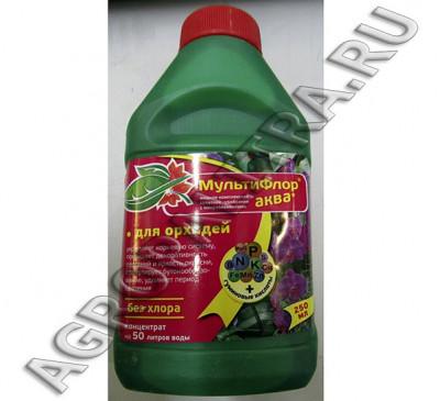 Мультифлор Аква для орхидей  250 мл комплексное удобрение