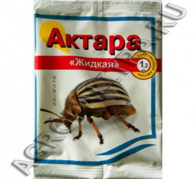 Актара жидкая от колорадского жука 1.2 мл