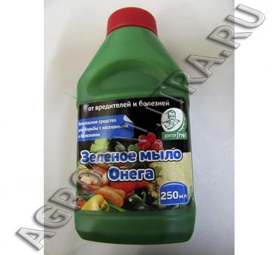 Зеленое мыло, 250 мл от болезней и насекомых